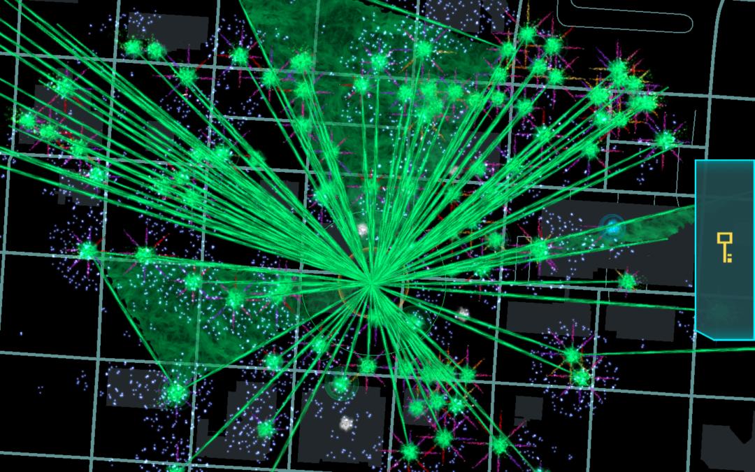 Starburst OP Illuminates Downtown Anchorage
